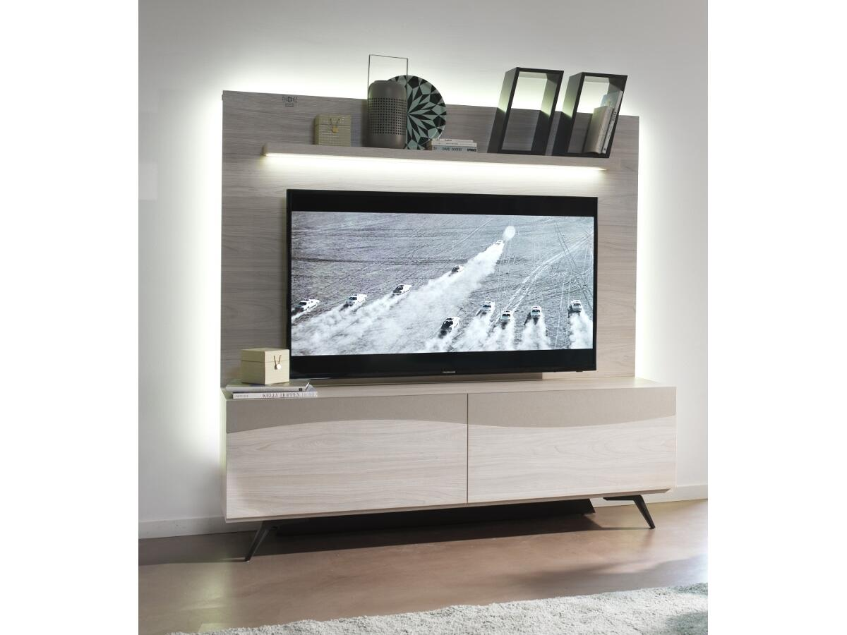 meuble tv chevalet perfect quai with meuble tv chevalet elegant homcom meuble tv bas table. Black Bedroom Furniture Sets. Home Design Ideas